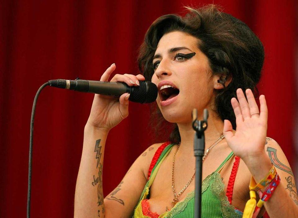 Amy Winehouse (Sept. 14, 1983 - July 23,