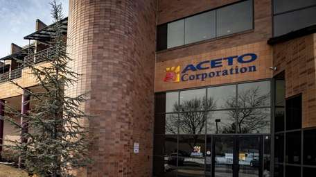 Aceto Corp. in Port Washington, seen on March