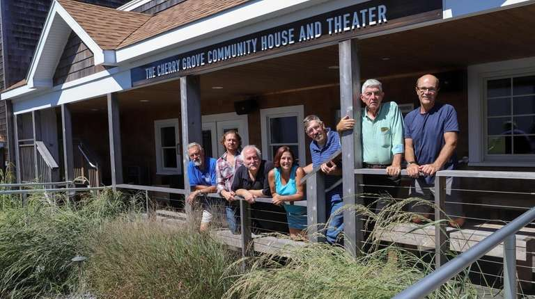 Members of the Cherry Grove Garden Club at