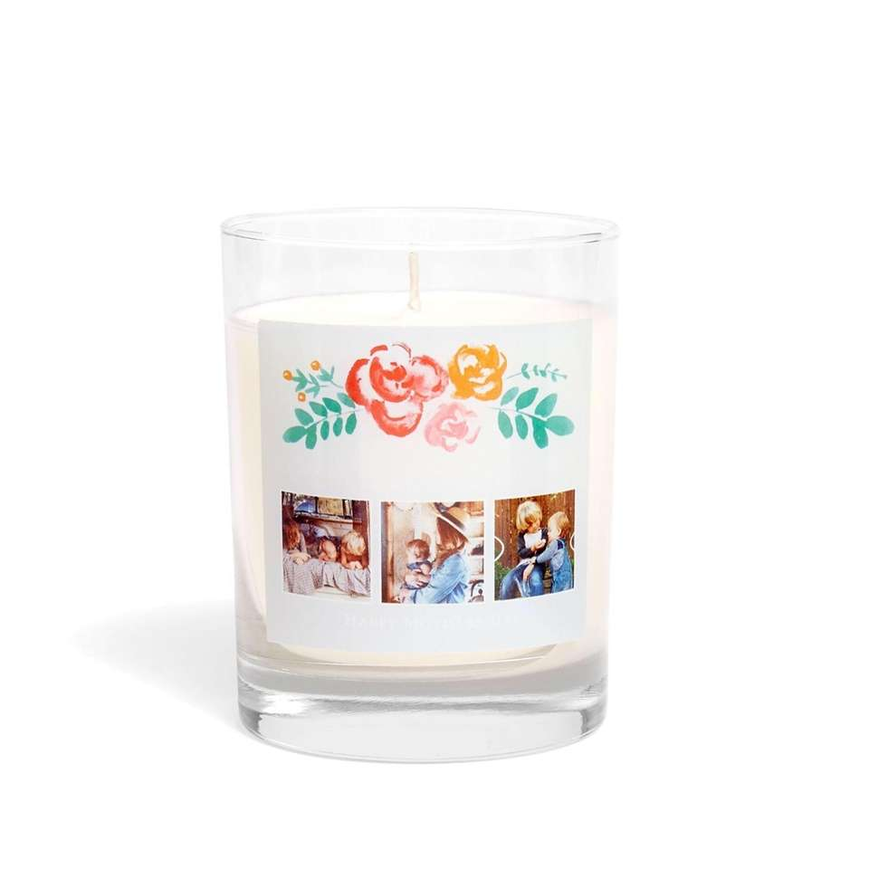 Choose the design and personalize this candle with