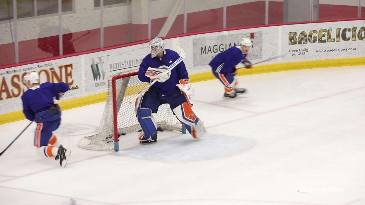 The Islanders on Tuesday talked about looking ahead