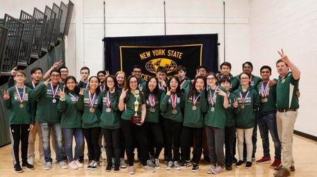 A Ward Melville High School team is advancing