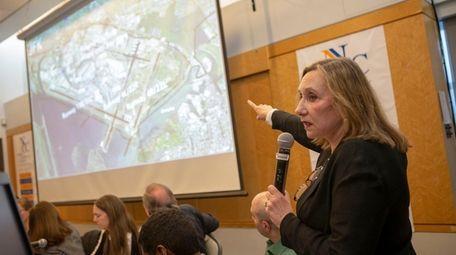 Elaine Miller of Plane Sense 4 LI speaks