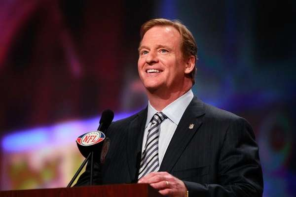 File photo of NFL commissioner Roger Goodell.