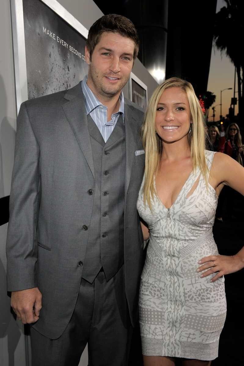 NFL player Jay Cutler and Kristin Cavallari were