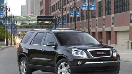 10. The GMC Acadia is built in Lansing,