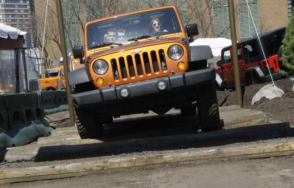 7. The 2012 Jeep Wrangler is built in