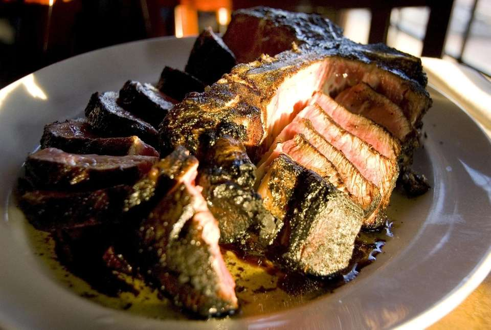 Porterhouse for Two as prepared by Vittorio's Restaurant