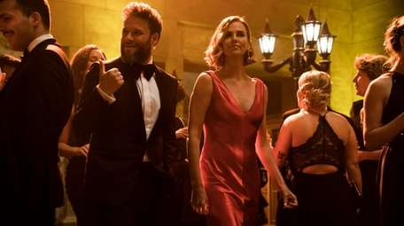 "Seth Rogen and Charlize Theron star in ""Long"