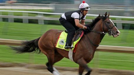 Kentucky Derby hopeful War of Will is ridden