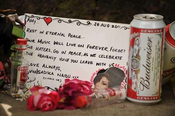 Amy Winehouse memorial