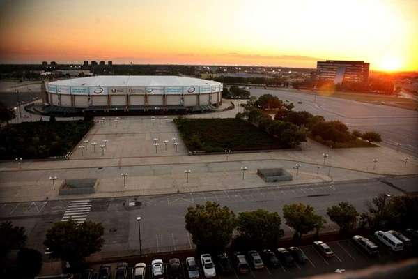 The Nassau Coliseum. (July 14, 2011)