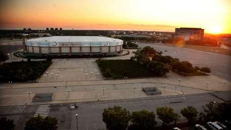 The Nassau Coliseum. (July 14, 2011)