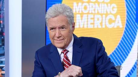 Alex Trebek discussed his cancer diagnosis with