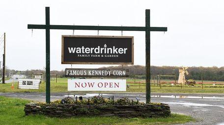 Waterdrinker Farm on Wading River Road in Manorville.
