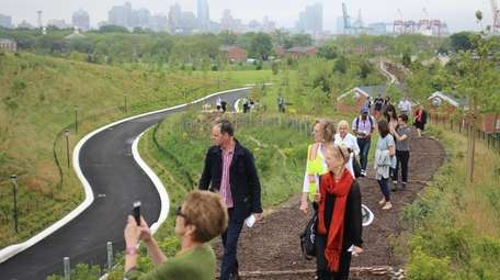 The Hills of Governors Island is a 10-acre