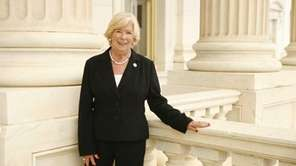 New York Congresswoman Carolyn McCarthy poses for a