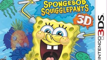 SpongeBob SquigglePants box