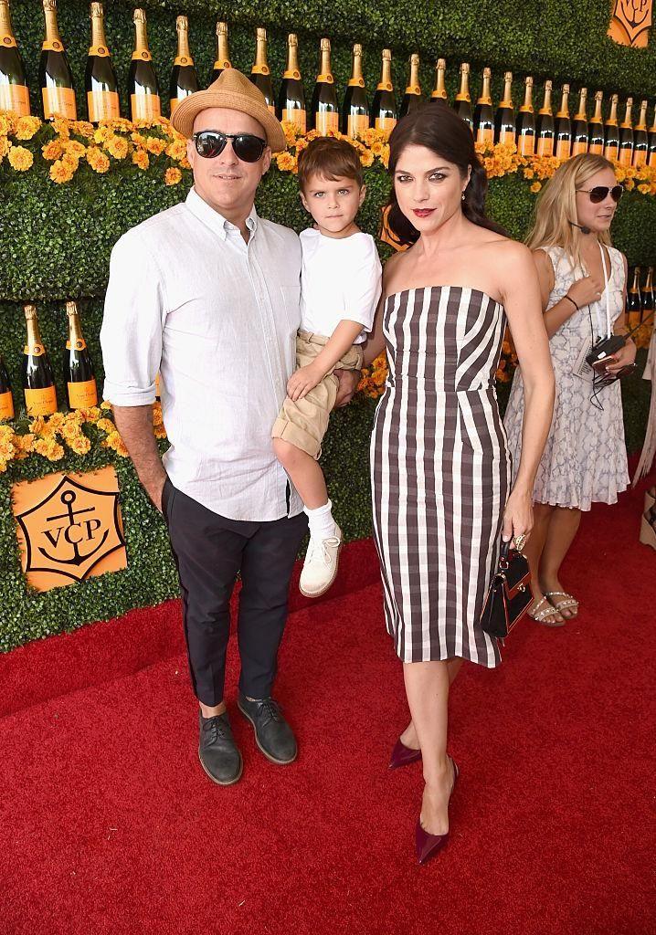 Parents: Selma Blair and Jason Bleick Child: Arthur