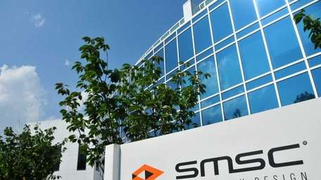 Exterior of SMSC Standard Microsystems Corp. in Hauppauge.