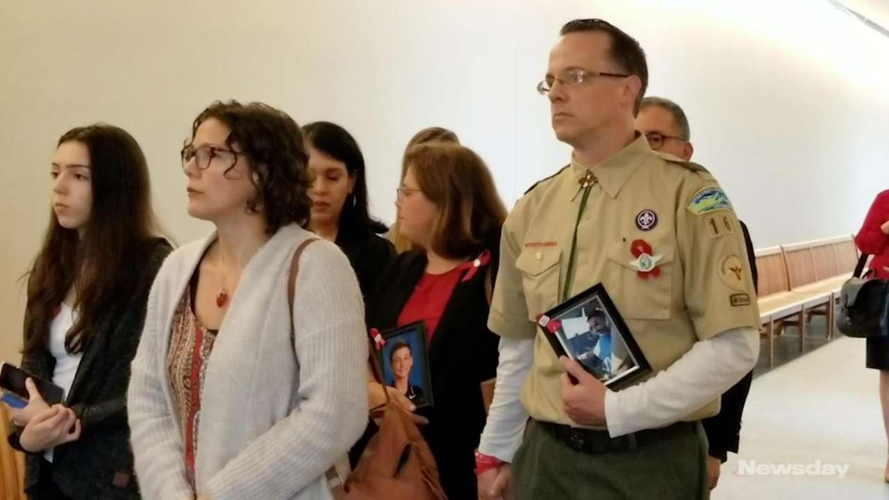 The parents of Boy Scout Andrew McMorrisspoke Thursday