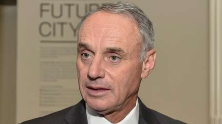 MLB commissioner Rob Manfred at the Museum of