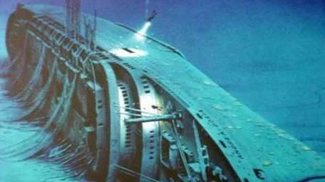 The cruise ship Andrea Doria sank about 50