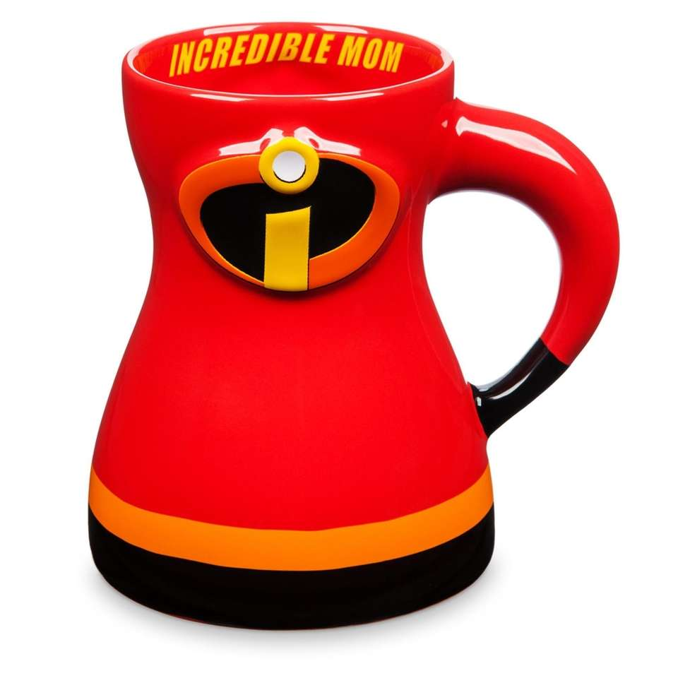 """Inspired by Disney's """"Incredibles,"""" this ceramic mug features"""