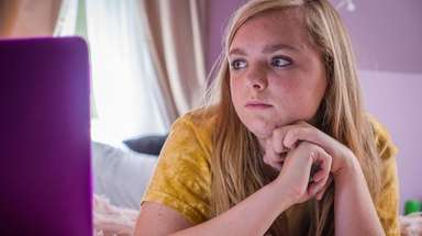 "Elsie Fisher in A24 Film's ""Eight Grade"" directed"