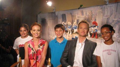 Kidsday reporters Emma Levin, Logan Leeds and Lia