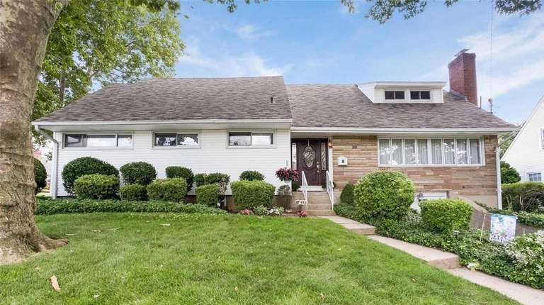This Franklin Square Colonial is listed for $749,999.