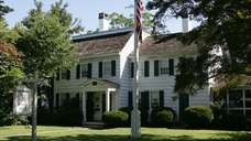 The Bellport-Brookhaven Historical Society is located in the