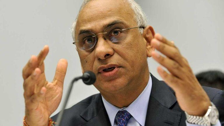 Deven Sharma, president of Standard & Poor's, testifies