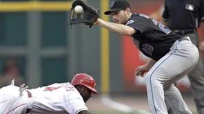 New York Mets first baseman Daniel Murphy (28)