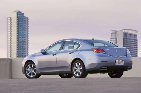 Outfitted with a six-speed manual transmission, the Acura