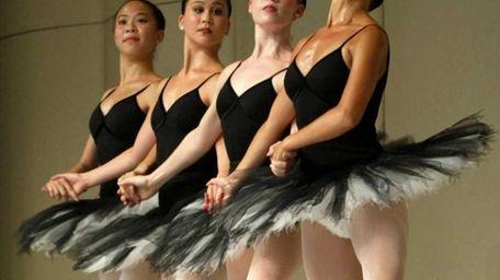 Ballet shot from Act II of Swan Lake,
