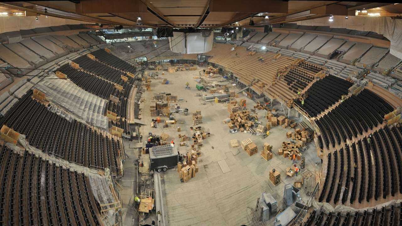 Msg Renovation Going As Planned Newsday