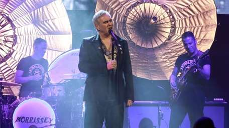 Morrissey's residency at the Lunt-Fontanne Theatre runs through