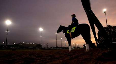 Kentucky Derby entrant Code of Honor waits to