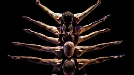 PUSH Physical Theater troupe will perform athletic stunts