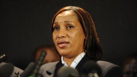 """Nafissatou """"Nafi"""" Diallo, the accuser in the Dominique"""