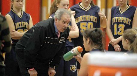 Northport girls basketball head coach Rich Castellano speaks