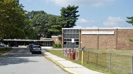 Syosset High School is located on Southwoods Road.
