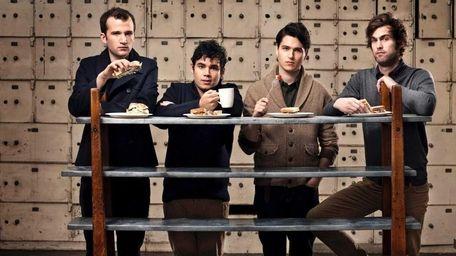 Pictured from left: Chris Baio, Rostam Batmanglij, Ezra
