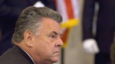 Rep. Peter King on Capitol Hill in Washington.