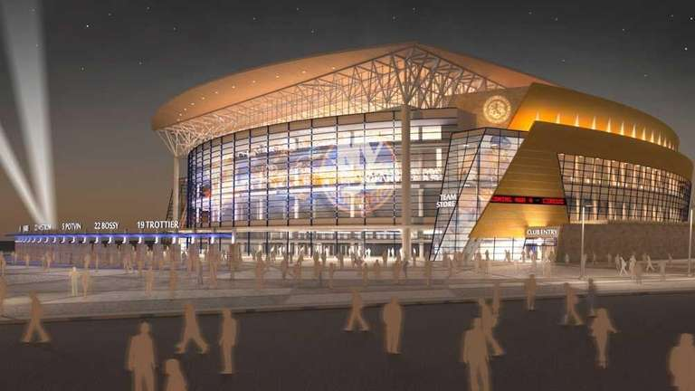 Rendering of the proposed arena that would replace