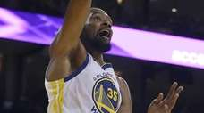 Golden State star Kevin Durant, here dunking in
