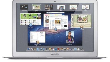 Mac OS X Lion (with wireless bluetooth braille
