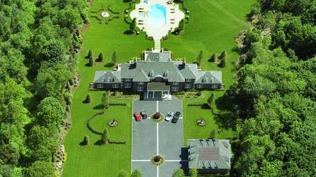 A gated estate on more than 5 acres