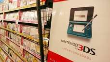 Nintendo's handheld game console 3DS and its game